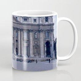 Vintage Color Photo * Kodachrome * St Peter's Basilica * 1950's * Vatican * Rome * Italy Coffee Mug