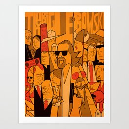 The Big Lebowski Art Print