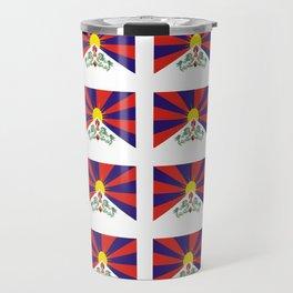 flag of thibet,བོད,tibetan,asia,china,Autonomous Region,everest,himalaya,buddhism,dalai lama Travel Mug