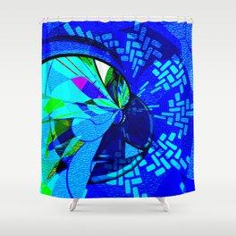 A Million Distance Away Shower Curtain