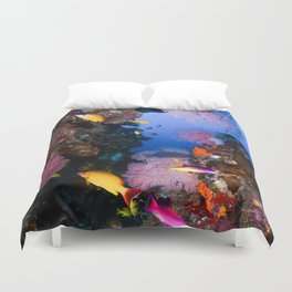 Tropical Fish Great Barrier Reef Coral Sea Duvet Cover