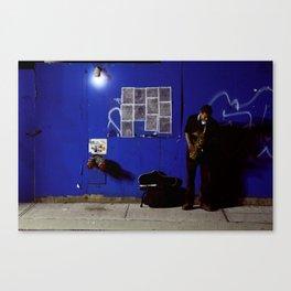 JazzBlock Canvas Print
