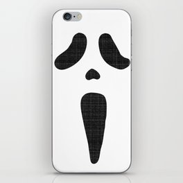 Classic Scary Face iPhone Skin