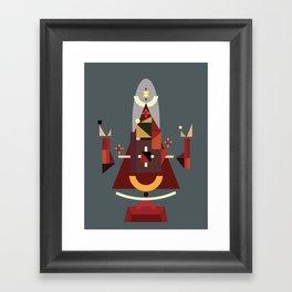 orans I.C. Framed Art Print