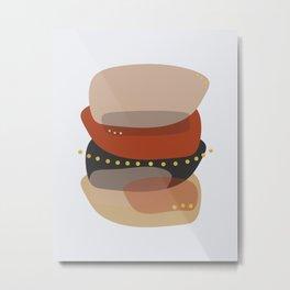 Modern minimal forms 5 Metal Print