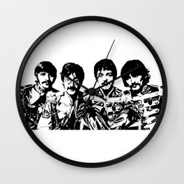ITS CHRISTMAS TIME LEGENDARY 1960'S POP BAND Wall Clock