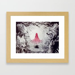 Will We Come Out Again? Framed Art Print