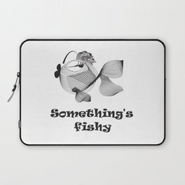 Cute funny fish Laptop Sleeve