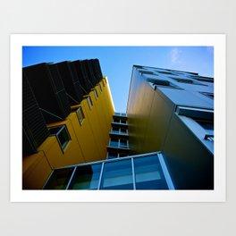 The Building Art Print