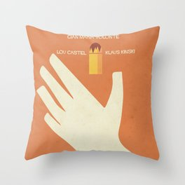 A Bullet for the General, Movie with Klaus Kinski, Gian Maria Volonté. Spaghetti Western Poster Throw Pillow