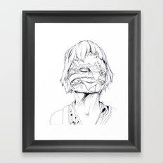 6 pieces_3 Framed Art Print