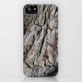 300 Year Old Tree Bark iPhone Case