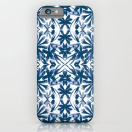 Ocean Shibori iPhone Case