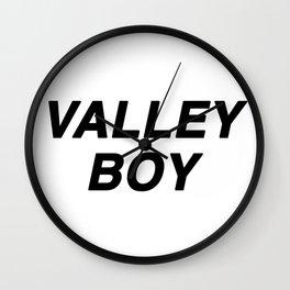 Valley Boy Wall Clock