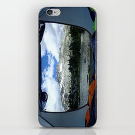 Tent View iPhone Skin