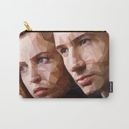 Scully and Mulder - The truth is out there Carry-All Pouch