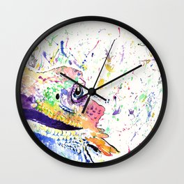 Bearded Dragon in full colour Wall Clock