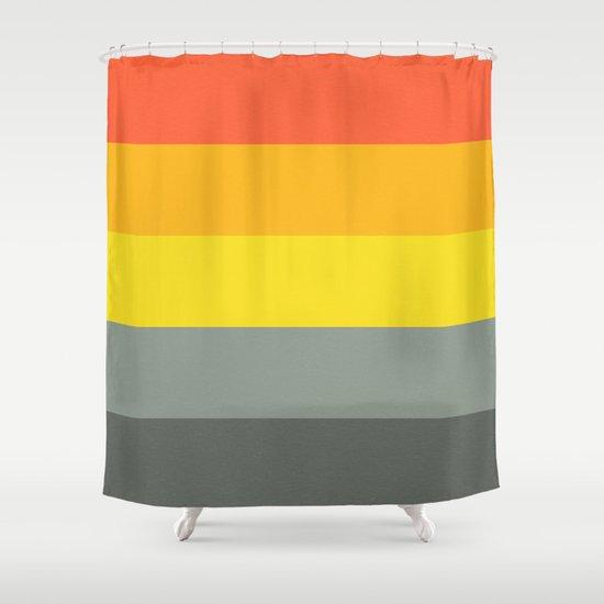 mindscape 8 Shower Curtain