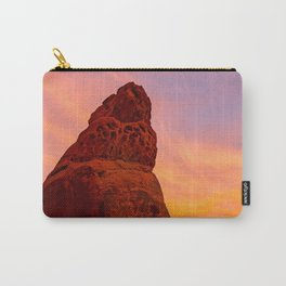 Balanced Rock Sunrise - Valley of Fire Carry-All Pouch