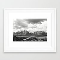 onward Framed Art Prints featuring Onward by takemetomountains