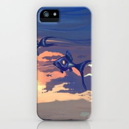 Sky Fishes iPhone Case