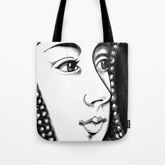 Queen Anne Boleyn Portrait  Tote Bag