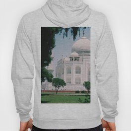 Beautiful View of The Taj Mahal Indian Islamic Architecture 7 Wonders Oriental Boho Cultural Style Hoody