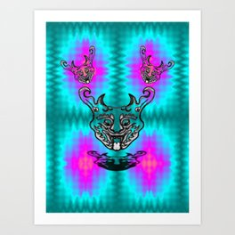 Happy Dragon Art Print