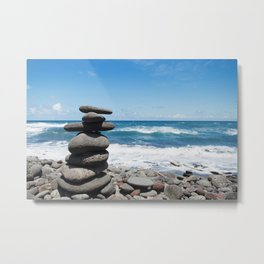 Rock tower Metal Print