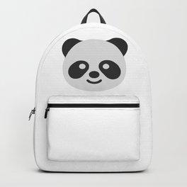 Panda Bear Face Emoji Backpack