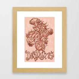 RumFish -pink Framed Art Print