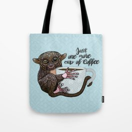 Tarsier Coffee Tote Bag