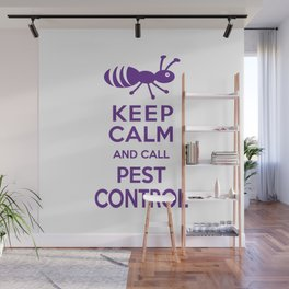 Funny Exterminator Wall Mural