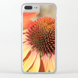 Echinacea Late Summer Bloom by Reay of Light Clear iPhone Case