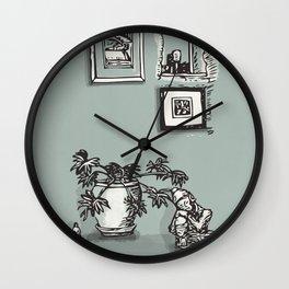 Down Farm Barn Wall Clock