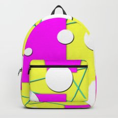 Geo Shape Play in Summertime Colors Backpack