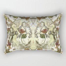 Green Man of the Forest Rectangular Pillow