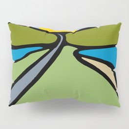 Road Trip Pillow Sham