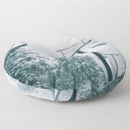 Ski Lift II Floor Pillow