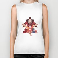 valentines Biker Tanks featuring Happy Valentines  by DustyLeaves