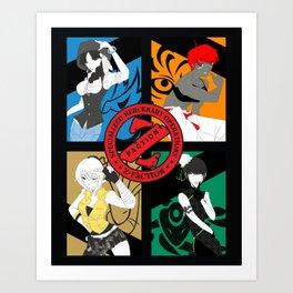 Z-FACTION - Pop Poster Art Print