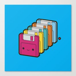 1.44MB Rainbow Canvas Print