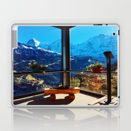 Swiss Alps Looking Glass Laptop & iPad Skin
