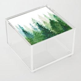 Pine Trees 2 Acrylic Box