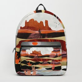 Coral Desert Lake Backpack