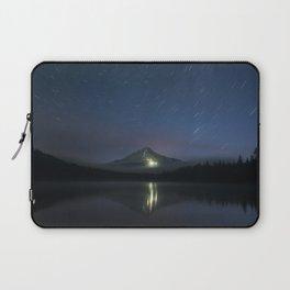 Lights on Mount Hood Laptop Sleeve