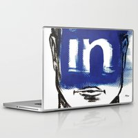 instagram Laptop & iPad Skins featuring O'Prime instagram by O'Prime