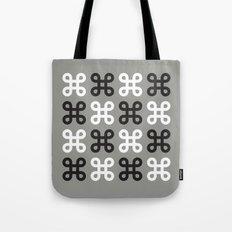 Monotone loops Tote Bag