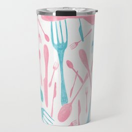 #71. FIONA (Forks & Knives) Travel Mug
