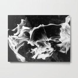 Fire Duel Metal Print